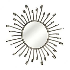 Premier PREM - 1101569 Mirror Wall Light Metal/Glass/Reflected Diamond