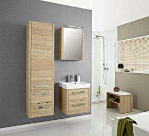 Pelipal Lardo 3-Piece Bathroom Furniture Set Washbasin / Cupboard / Mirror Cabinet / Comfort N