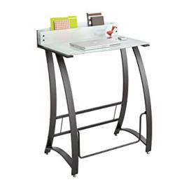 Safco 1941TG Xpressions Stand Up Workstation - Glass