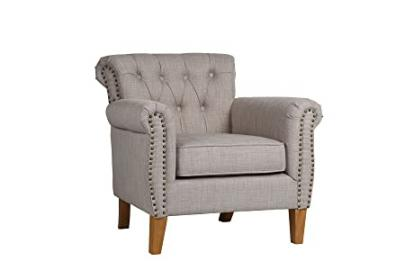 Birlea Highgate Chair, Fabric, Linen
