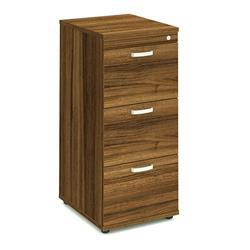 Impulse Filing Cabinet 3 Drawer Walnut - I000133