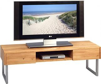 HomeTrends4You 353722 TV Stand in Wood Finish, 120 x 40 x 40 cm Wild Oak