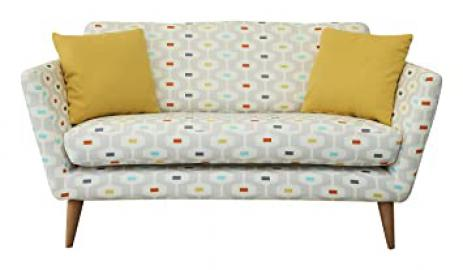Fizz 1950 Sofa, Fabric - Light Grey