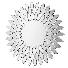 Premier Housewares Sylvana Sunburst Wall Mirror, 100 x 100 x 2 cm