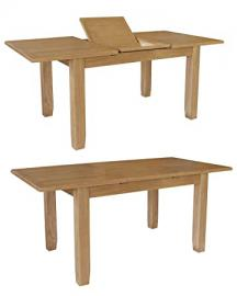 Cambridge Oak Extending Table with Butterfly