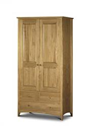 Julian Bowen Kendal Pine Combination Wardrobe