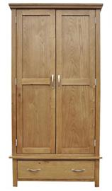 Sherwood Oak Gents Wardrobe