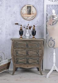 ANTIQUE ROOM COUNTRY HOUSE CHEST OF DRAWERS IM VINTAGE LOOK COTTAGE