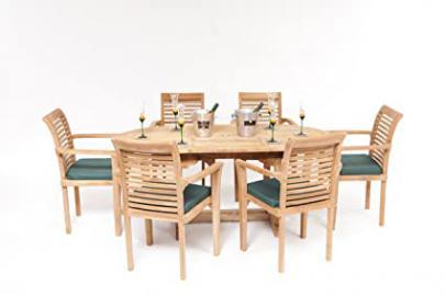 The Malton Teak Garden Furniture Set