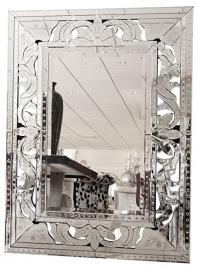 Febland Bold Venetian Wall Mirror, Mirrored, Large