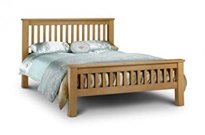 Julian Bowen Amsterdam Oak Super King Bed