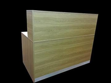 NEW HIGH QUALITY Reception Desk IN OAK, 1200 mm W /1100mm H /600 mm D