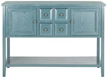 Safavieh Arbor Sideboard, Wood, Ocean Blue