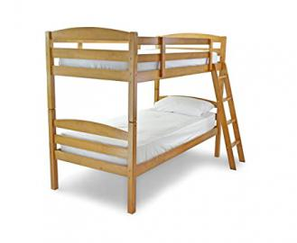 Amazing Moderna Wooden Bunk Bed (Antique) 3Ft