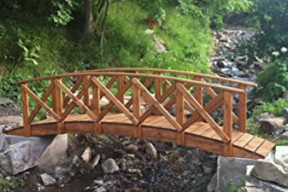 Classica Low Rail Garden Bridge (7ft Classica)