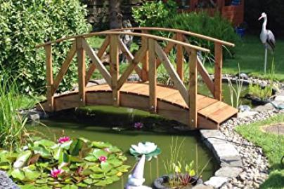 Europa Low Rail Garden Bridge (9ft Europa LR)