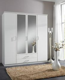 Wardrobe German Made Wimex 4 Doors in White Wardrobe Sale Furniture With Mirror Doors