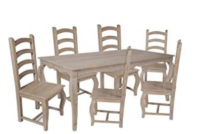 Loire French Grey/1.75 CM Dining Table Only/Chairs Sold Seperately