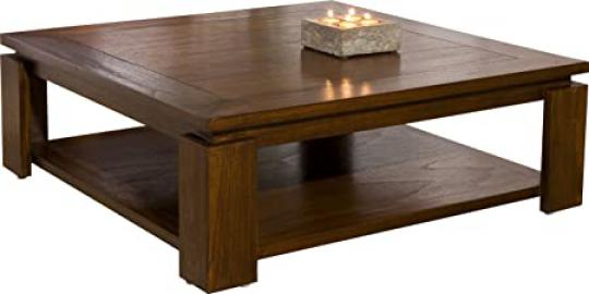 Mindi Double Tray Square Coffee Table