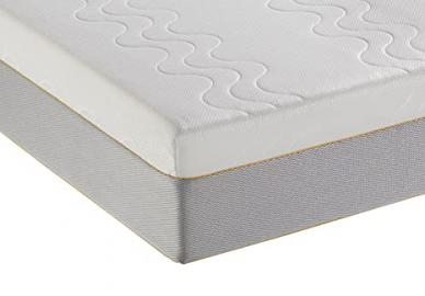 Dormeo Options Single Pocket Spring Mattress with Cotton, White