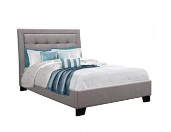 Birlea Hamilton Bed, Fabric, Grey, Super-King, 6 ft