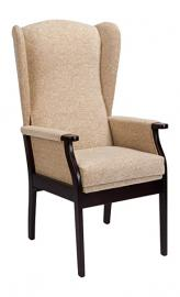 Camelot Burghley Orthopaedic Chair, Fabric, Beige Leaf