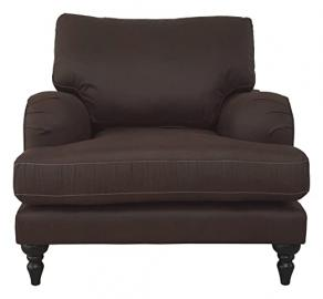 Montague Chair, Fabric - Aged Malt Brown Faux Leather