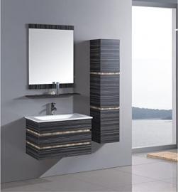 MODERN BATHROOM FURNITURE BATHROOM BATHROOM FURNITURE VANITY MIRROR INCLUDED FITTING + PUSH UP (21305)