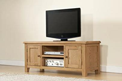 Shrewsbury Solid Oak Large TV Unit
