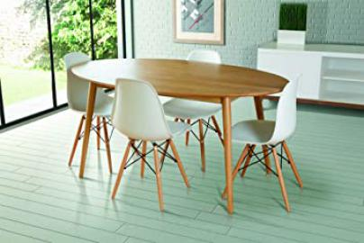 MY-Furniture - Dining table solid oak Oval -Tretton (Oval Solid Oak)