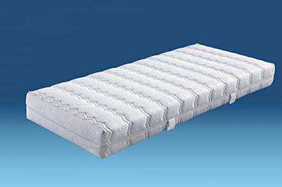 HN8 Belvedere Pocket Sprung Memory Foam Mattress 7 Zones Ttfk + Cold Foam with Washable Cover, H4, 160 x 200 cm