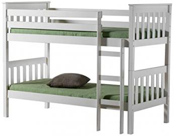 Birlea Seattle Bunk Bed - Pine, Ivory, Single