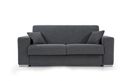 """Sofa bed 2 seater """"Lucy"""" with reversible corner and with choice of coating fully removable"""