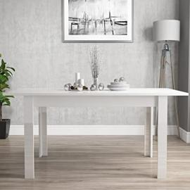 Vivienne Extending White High Gloss Dining Table