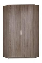 Wimex 130511 Click Corner Wardrobe 95 x 198 x 95 cm 2-Door Wardrobe Imitation montana Oak