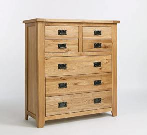 Westbury Reclaimed Oak 4 Over 3 Drawer Chest