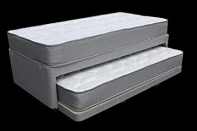 3ft single divan bed with overnighter, trundle guest bed underneath