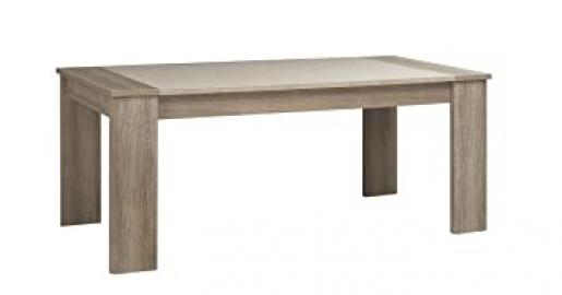 GAMI LUKKA Dining Table with Particleboard, Grey Hazelnut