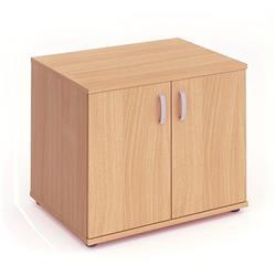 Impulse 600 Desk High Cupboard Beech - I000062