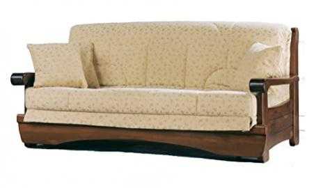 "Armchair bed ""Andrew"" with coated removable"