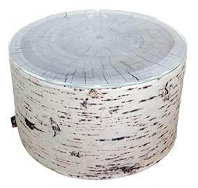 MeroWings 4260190317944 Birch Heavyweight Coffee Table / Side Table Diameter 60 CM x 35 CM