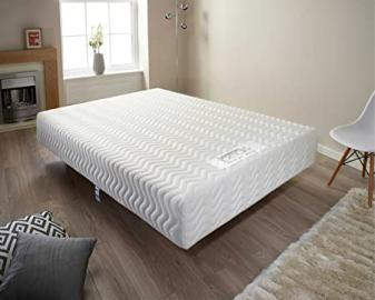 Pure Relief Mattress with Memory Foam for Extra Support [Energy Class A+++] (Super King (6'0))