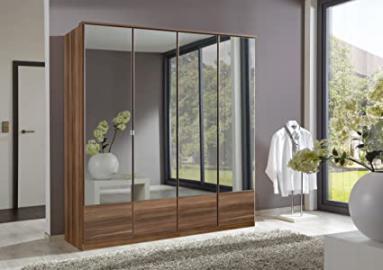 Imago 4 Door Mirrored Wardrobe