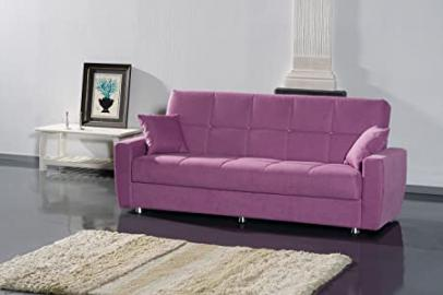 "Sofa bed 3 seater ""Ashley Lux"" with storage compartment"