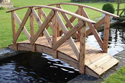 Classica High Rail Garden Bridge (10ft Classica)