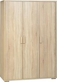 Seconique Cambourne 3 Door Wardrobe - Sonoma Oak Effect
