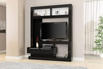 Birlea Viva Entertainment Unit - Wood, Black