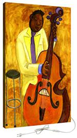 decoralive violonchelista-tableau 300V 5x 100x 50cm