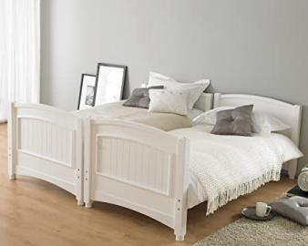 Hyder Living Alaska Futon Bunk Bed Plus Mattress, Metal, Silver/Lime