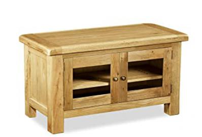Global Home Products Collection 31 TV Unit, Wood, Brown, Large